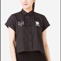 BLACKLINE design black shirt *NEW*