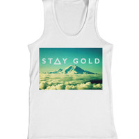 Stay gold triangle vest