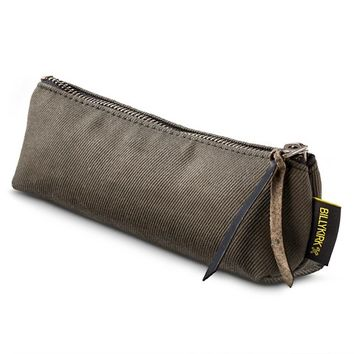 BILLYKIRK Small Canvas Pencil Case