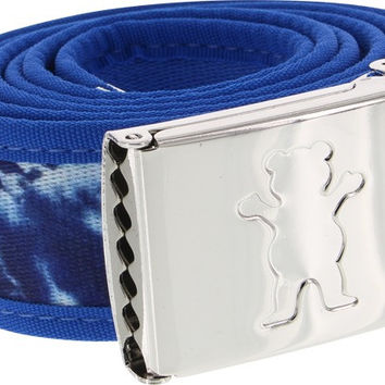 Grizzly New Wave Tie Dye Clamp Belt Navy