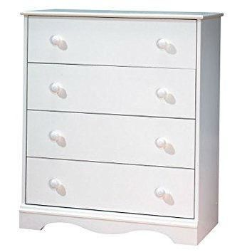 White Chest with 4 Drawer ready to Fine Tune any Bedroom in Your Home