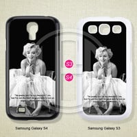 Marilyn Monroe, Phone cases, Samsung Galaxy S3 Case, Samsung Galaxy S4 Case, Case for Samsung Galaxy, Cover Skin -S0644