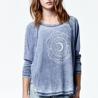 Billabong Goes In Waves Long Sleeve Thermal T-Shirt - Womens Tee