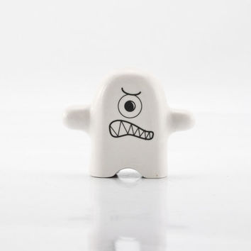 Monster Ceramic Figurine - Porcelain Figurine - Modern Kawaii Figurine