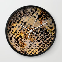 Robert Rohm Steel Art Detail Wall Clock by UMe Images