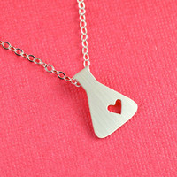 Love of Science Pendant Necklace