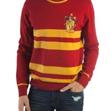Harry Potter Gryffindor House Adult Jacquard Sweater