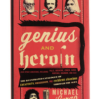 Genius And Heroin Illustrated Book