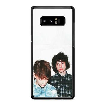 Noah Schnapp And Finn Wolfhard Samsung Galaxy Note 8 Case