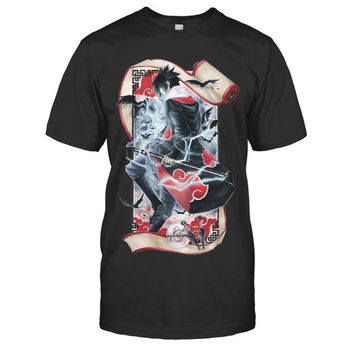 Naruto - Sasuke - Men Short Sleeve T Shirt - SSID2016