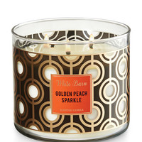 GOLDEN PEACH SPARKLE3-Wick Candle