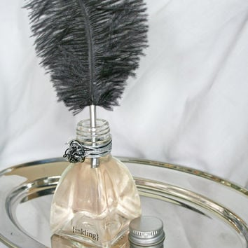 Resplendent -pure perfume & essential oils, alcohol free, 2 oz inkwell, quill applicator and vanity tray. Long lasting oil fragrance.