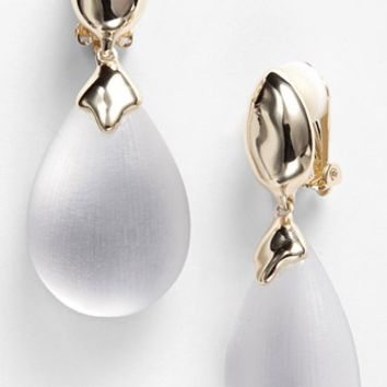 Women's Alexis Bittar 'Lucite' Drop Clip Earrings