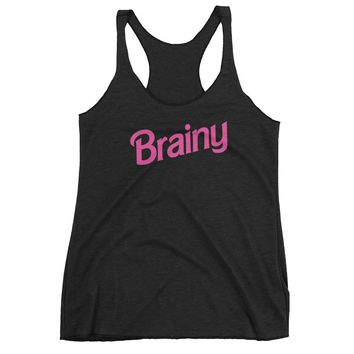 Brainy Women's tank top