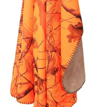Realtree Blaze Orange Throw