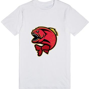 Piranha Sports Mascot | T-Shirt | SKREENED