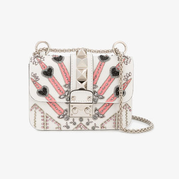 VALENTINO GARAVANI 'LOVEBLADE' LOCK SHOULDER BAG
