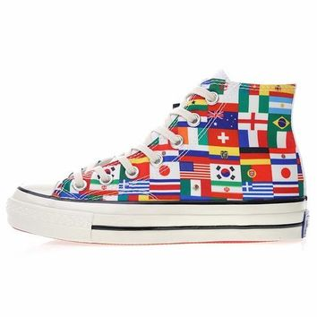 2018 FIFA World Cup Converse Chuck Taylor All Star 1970S National Flag Mid Sneakers - Best Online Sale