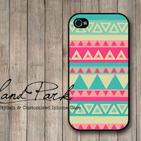 Pink Aztec Pattern iPhone 4 Case, iPhone 4s Case, iPhone Case, iPhone hard Case