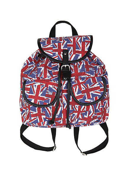 Union Jack Slouch Backpack From Hot Topic Bags