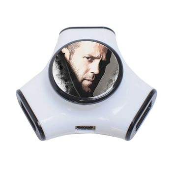 A Tribute To Jason Statham 3 Port Usb Hub 3-Port USB Hub
