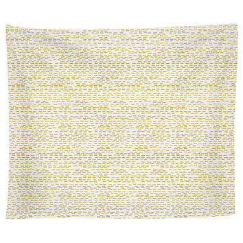 Gold Stripes Tapestry