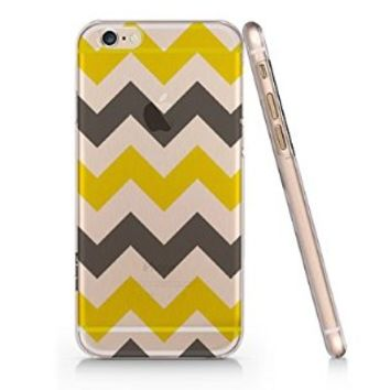Aztec Min Chevron Pattern Iphone 6 Case, Clear Iphone 6 Hard Cover Case (For Apple Iphone 6 4.7 Screen)-Emerishop (MAY532)