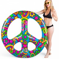 Big Mouth Giant Peace Sign Pool Float