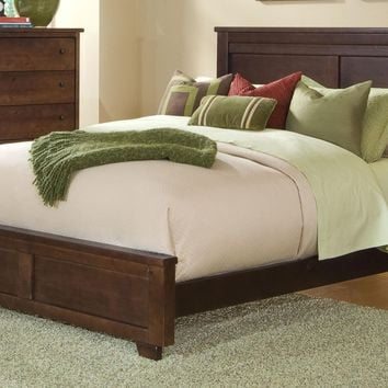 Diego Casual King Complete Bed Espresso Pine