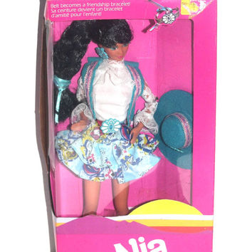 NIB 1980s Western Fun Nia Barbie Doll, 80s Kids, Girl Toys, Antique Alchemy