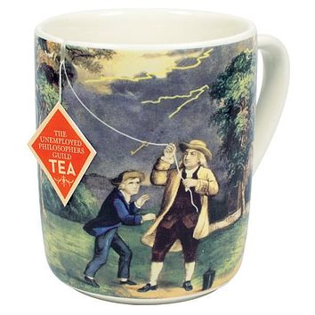 PHILOSPHERS GUILD BENJAMIN FRANKLIN ELECTRI-TEA MUG