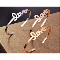 Fashion Love Women Men Bracelet