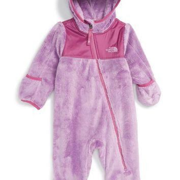 ONETOW The North Face 'Oso' Hooded Fleece Romper (Baby Girls) | Nordstrom