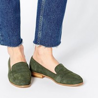 ASOS MANOR Suede Loafers at asos.com