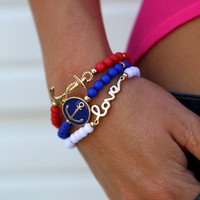 Nautical Trio {Bracelets}