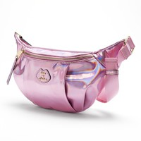 Juicy Couture Metallic Fanny Pack (Purple)