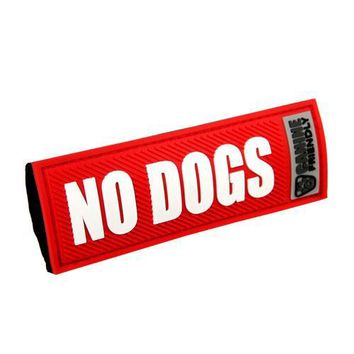Bark Notes Dog Collar and Leash Attachments - No Dogs