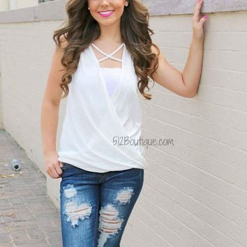 Perfect Detail Tank -Ivory