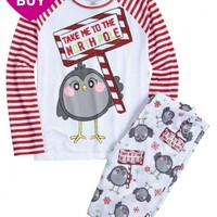 NORTH POLE BIRDIE PAJAMA SET | GIRLS $22 PAJAMA SETS STYLE BUYS | SHOP JUSTICE