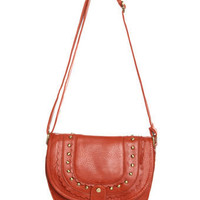 Cute Orange Handbag - Orange Purse - Cross-Body Handbag - $33.00
