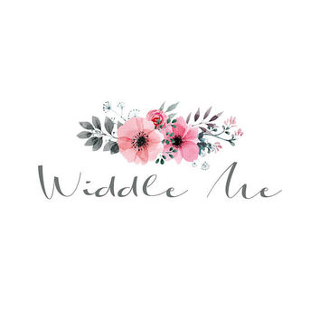 Custom Logo Design - Premade Logo Design and Watermark for Photographers and Small Businesses - Hand Drawn Watercolor. VD004