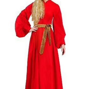 Plus Size Buttercup Peasant Dress Costume