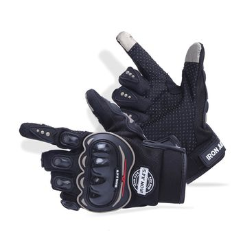 New Motorcycle Gloves Touch Screen Breathable Wearable Protective Gloves