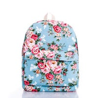 Canvas Stylish Fashion Korean Casual Backpack = 4887550916