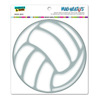 Volleyball - Circle MAG-NEATO'S TM Car-Refrigerator Magnet