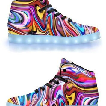 Lucid Dreams -  APP Controlled High Top LED Shoes