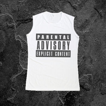 Parental Advisory Muscle Tee