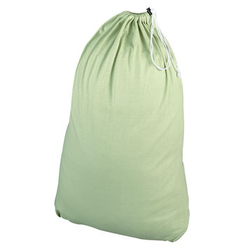 Jersey Laundry Bag, Sage green