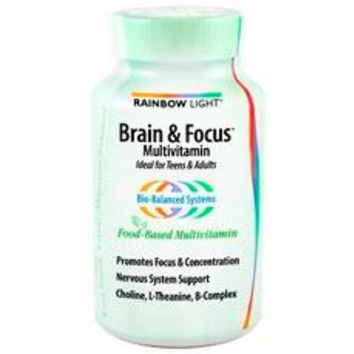 Rainbow Light Brain & Focus Multivitamin (1x90tab )