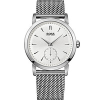 Boss Hugo Boss Slim Ultra Chronograph Watch - Silver